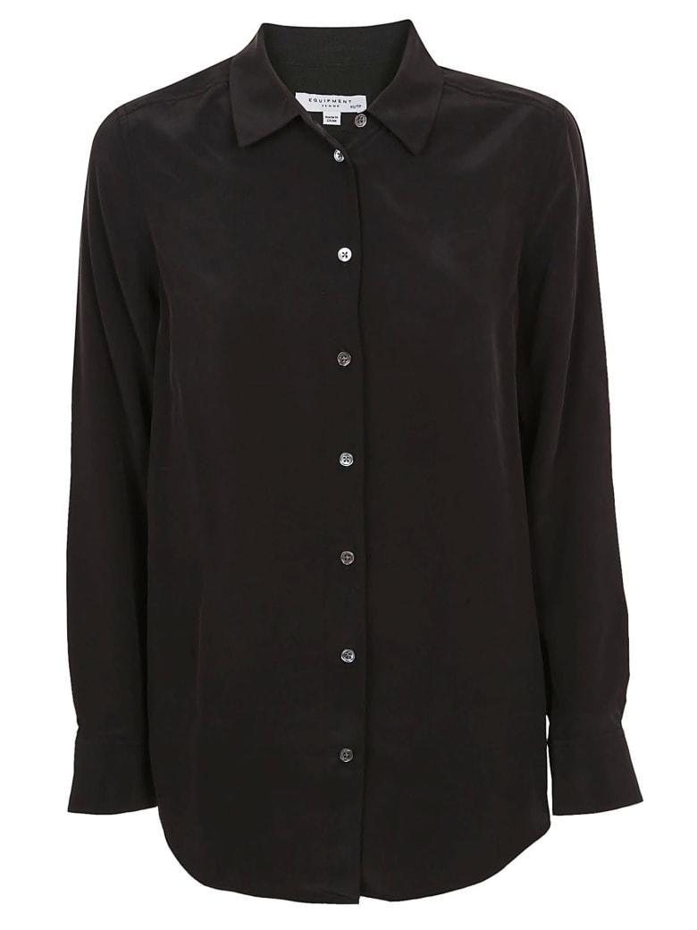 Equipment Slim Signature Shirt - True Black