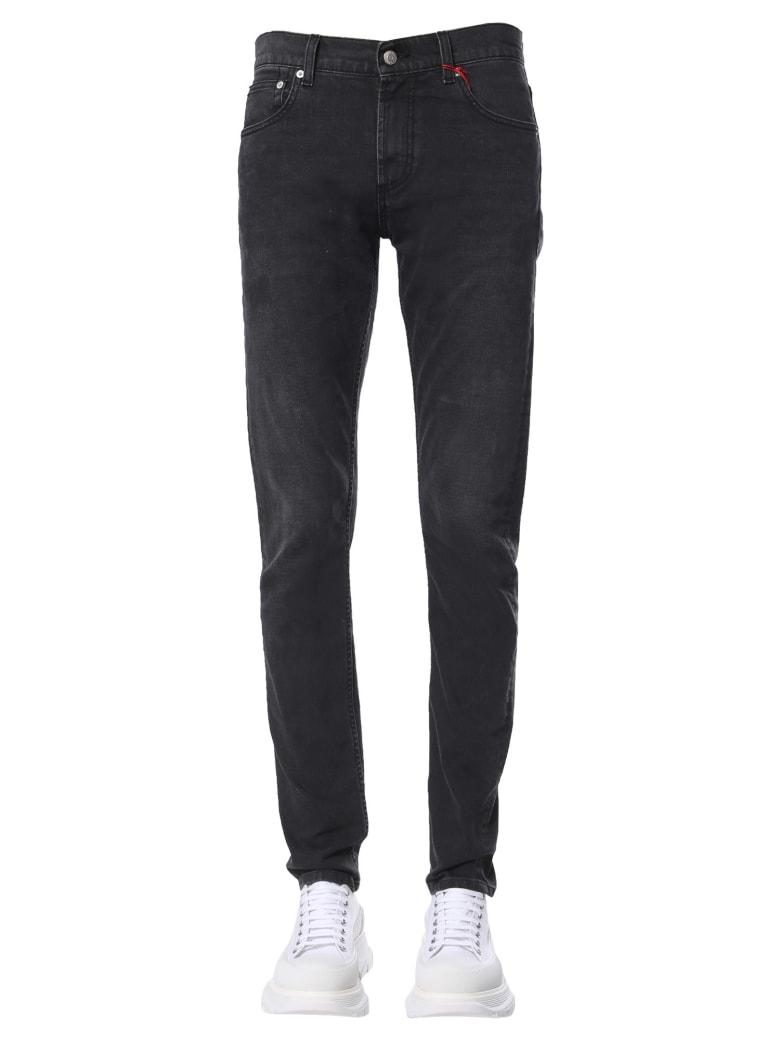 Alexander McQueen Skinny Fit Jeans - NERO