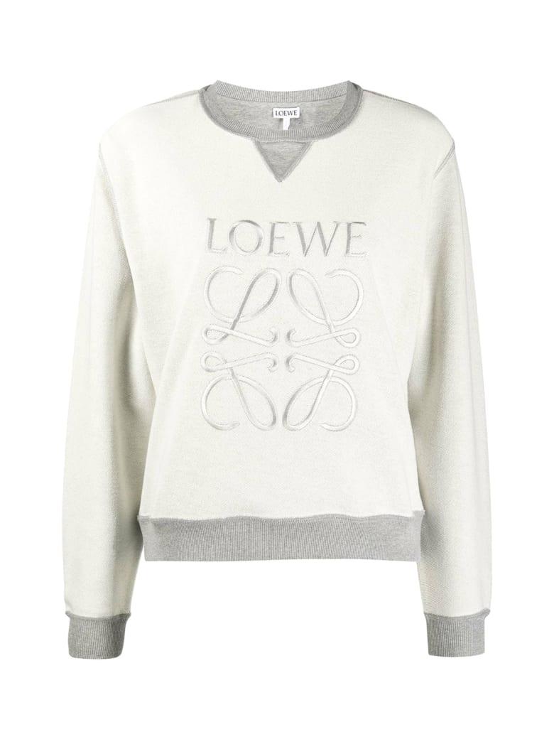 Loewe Anagram Sweatshirt - Grey Melange