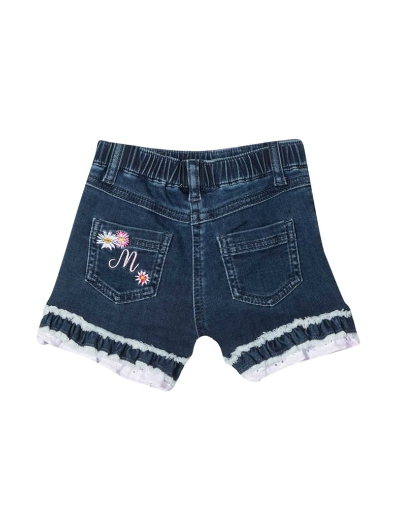 Monnalisa Denim Shorts - Denim