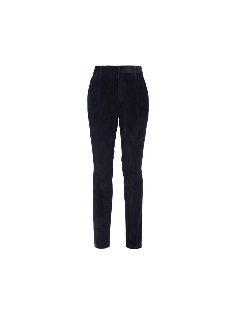 Dolce & Gabbana Dolce&gabbana Pants - Blu scurissimo