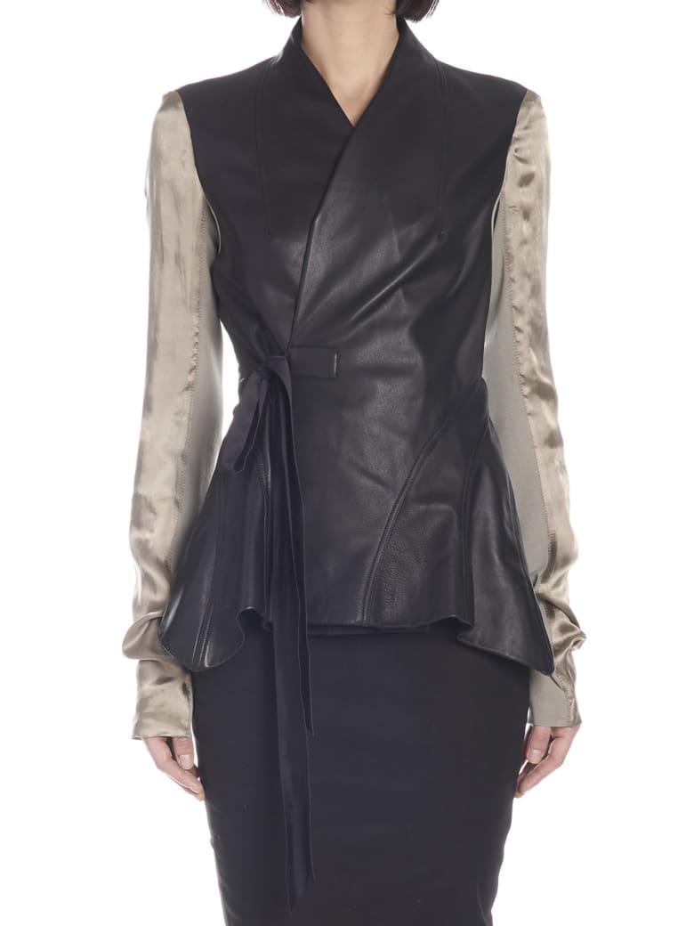 Rick Owens 'wrap Princess' Jacket - Black