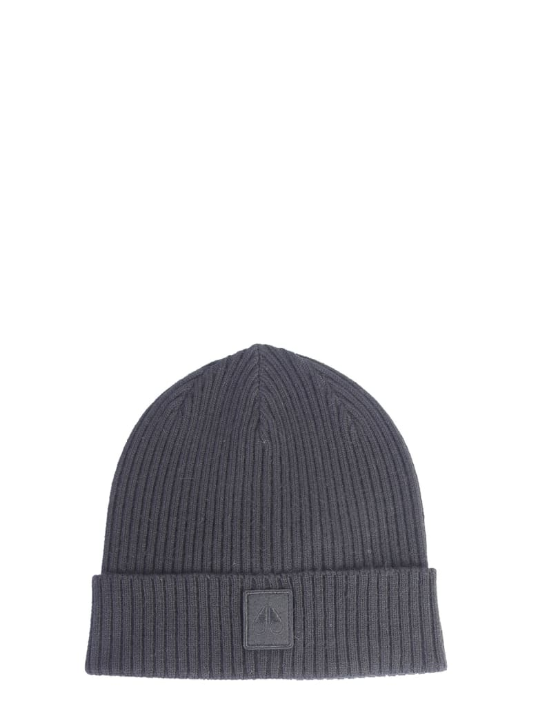 Moose Knuckles Knitted Hat - NERO