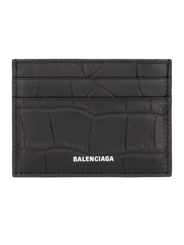 Balenciaga Ville Embossed Cardholder by Balenciaga