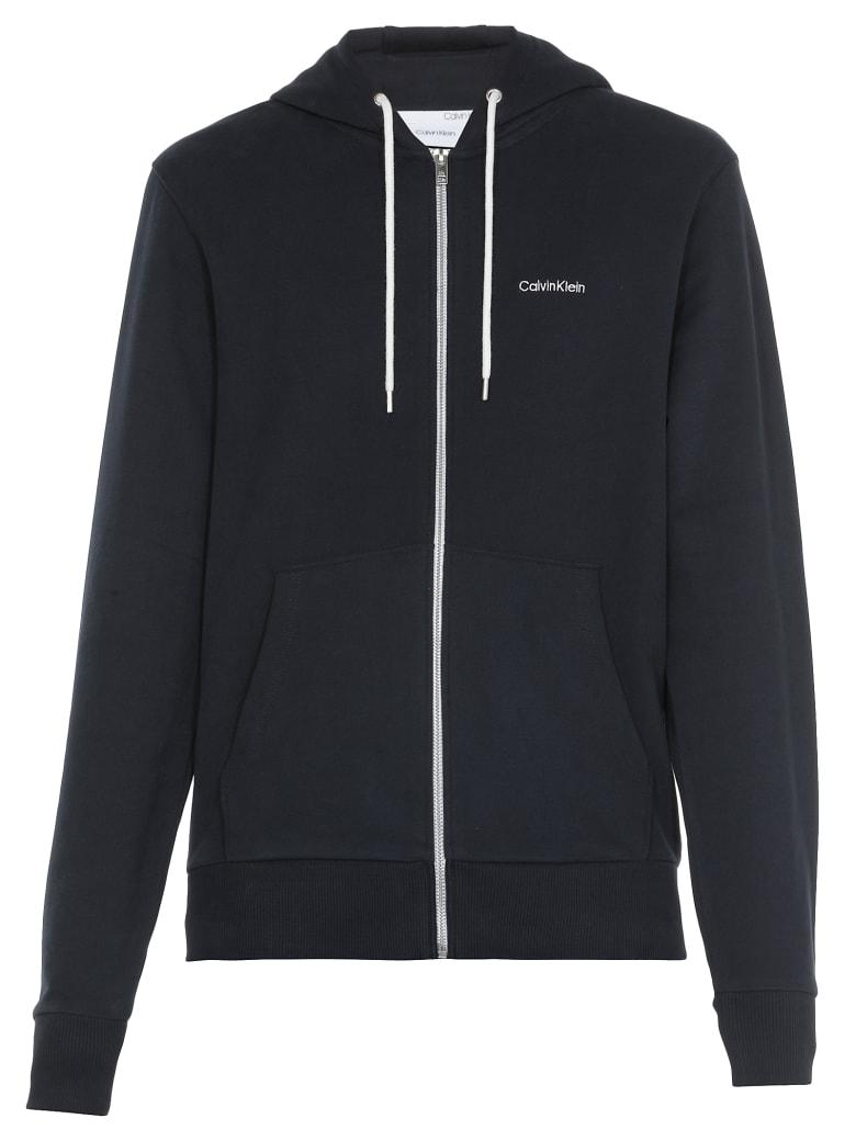 Calvin Klein Logo Sweatshirt - CALVIN NAVY