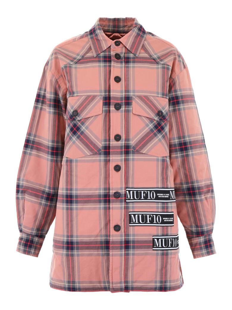 MUF10 Lumber Jacket - CHECK (Pink)