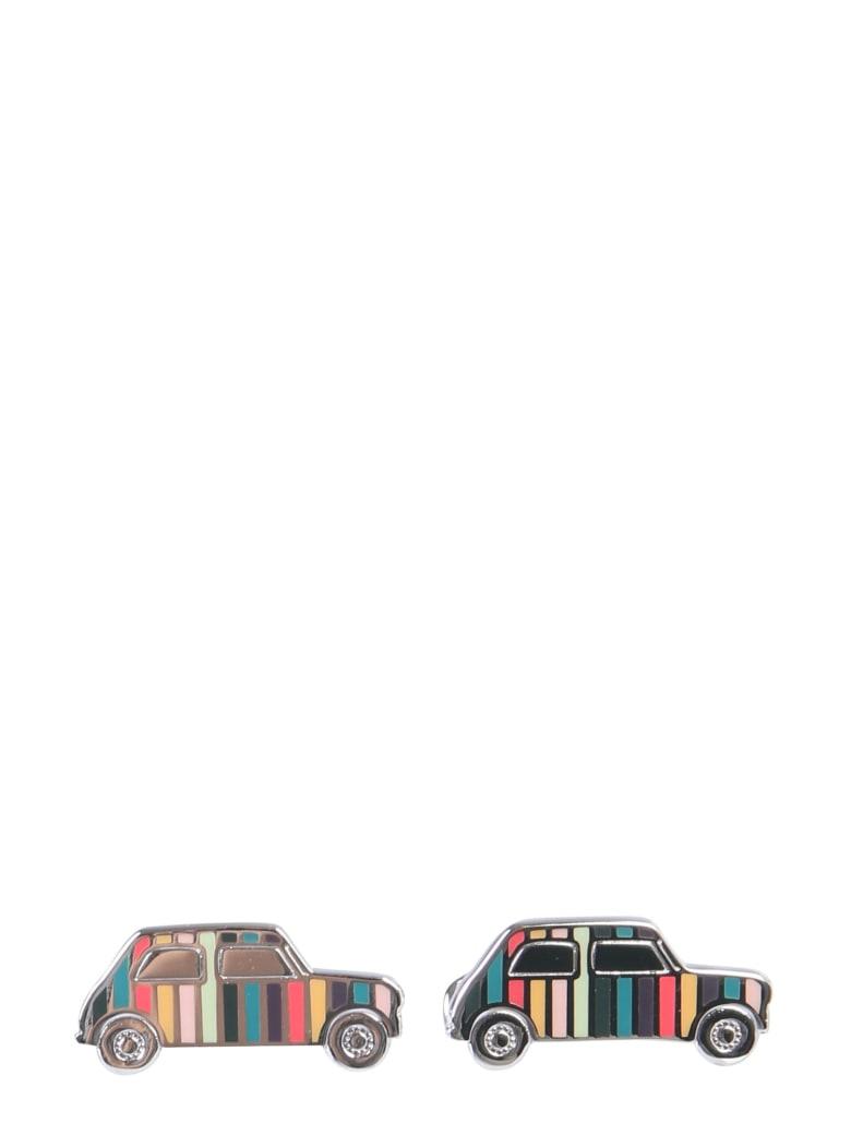 Paul Smith Mini Car Cufflinks - MULTICOLOR