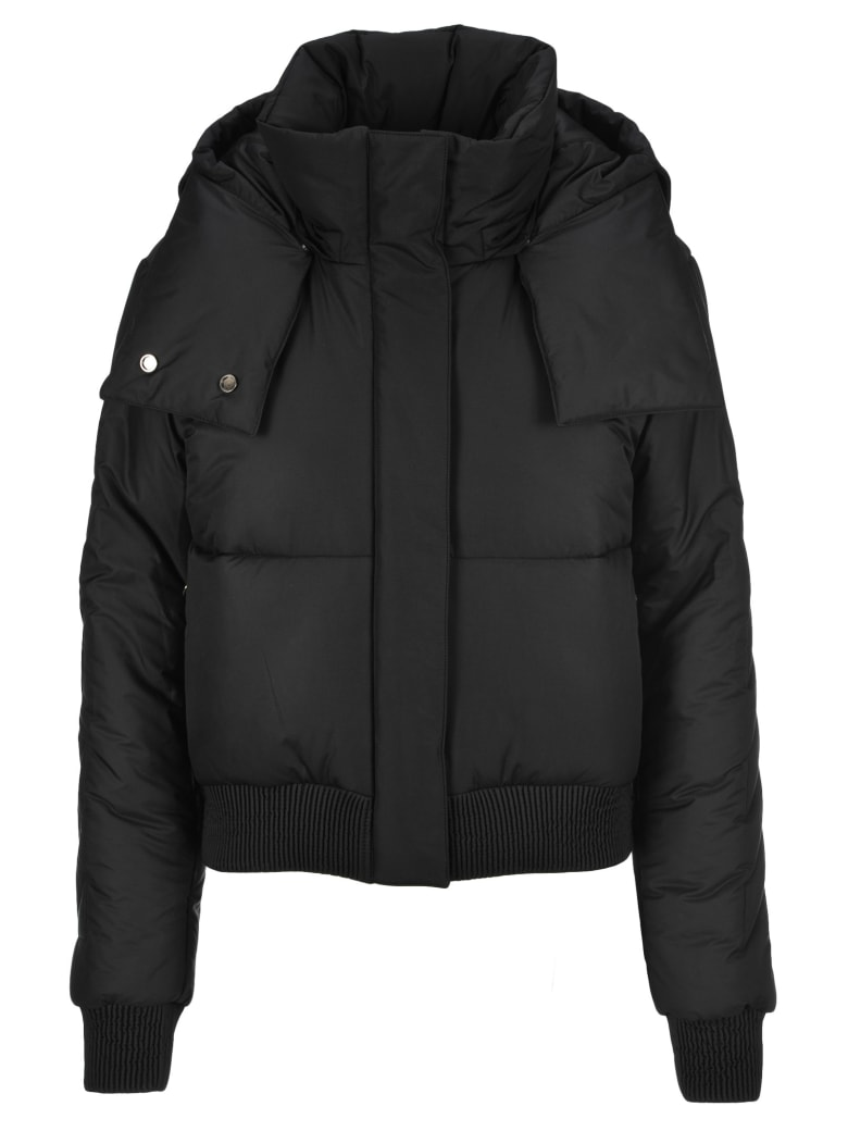 Off-White Off White Puffer Jacket - BLACK BLACK