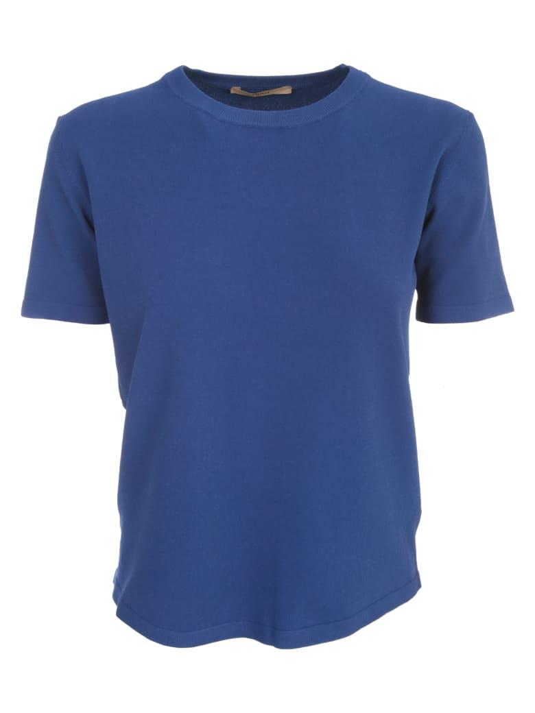 Nuur Viscose T-shirt S/s Crew Neck - Ink