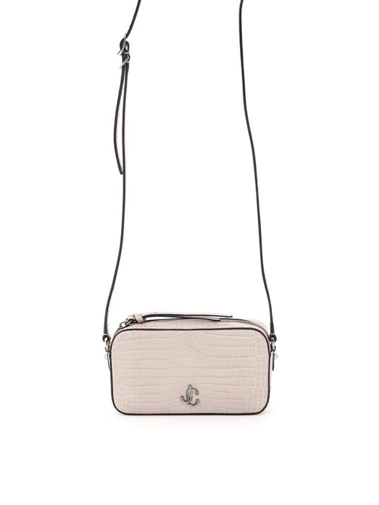 Jimmy Choo Hale Camera Bag - SAND (Grey)