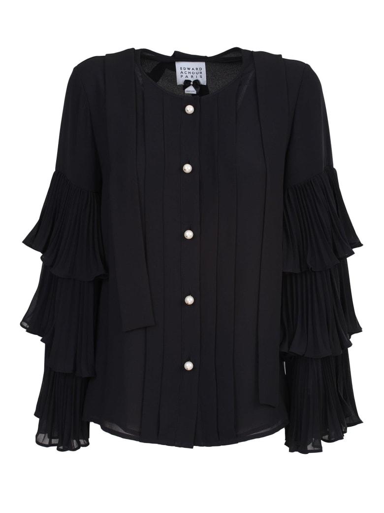 Edward Achour Paris Shirt - Nero