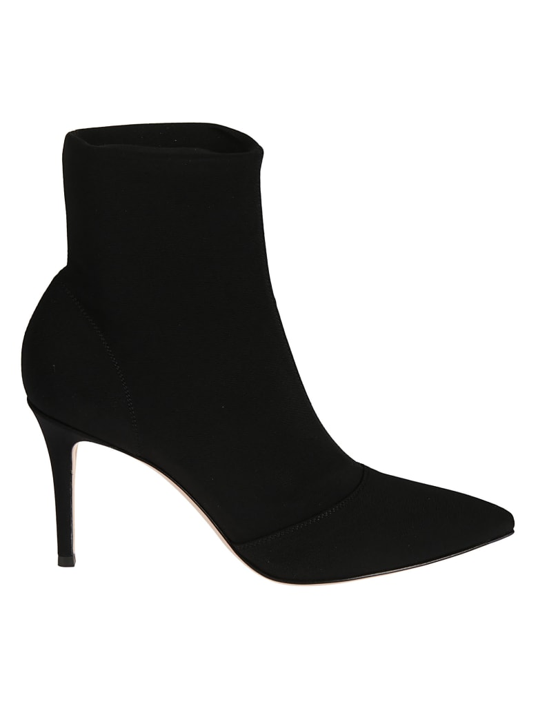 Gianvito Rossi High Ankle Boots - Black