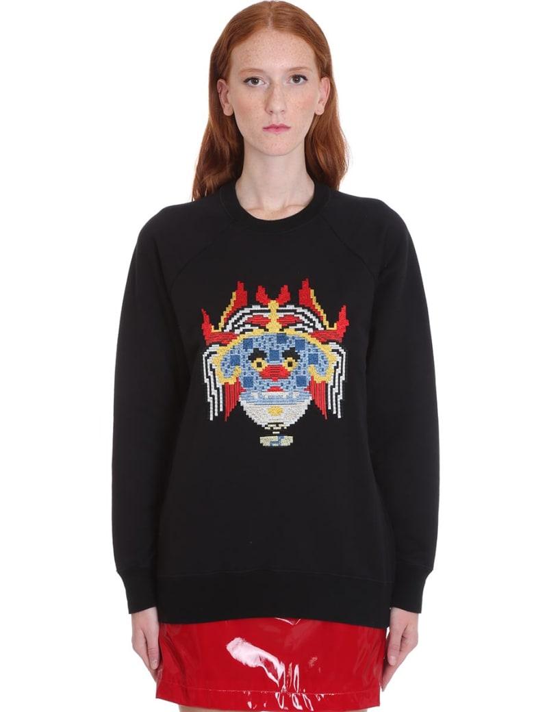 Kirin Sweatshirt In Black Cotton - black