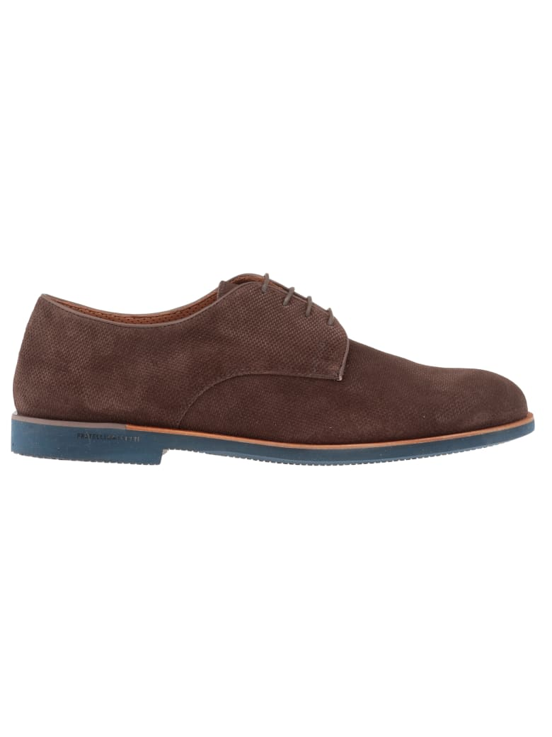 Fratelli Rossetti Leather Lace-up Shoe - Ebano
