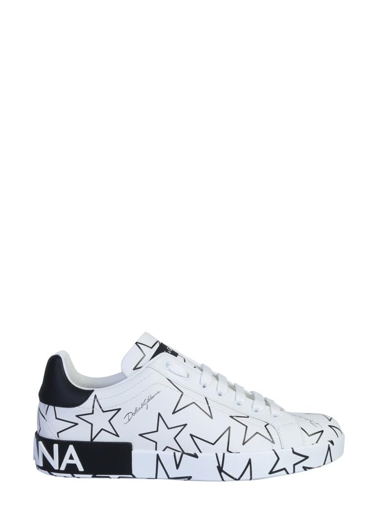 Dolce & Gabbana Sneakers - Stelle fondo panna