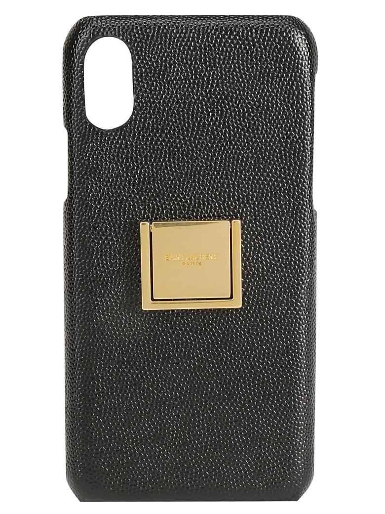 Saint Laurent Iphone X Cover - Black