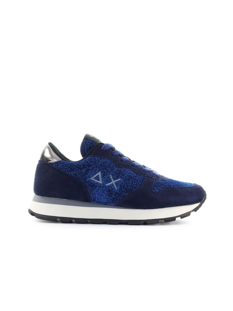 Sun 68 Sun68 Ally Thin Glitter Navy Blue Sneaker - Navy (Blue)