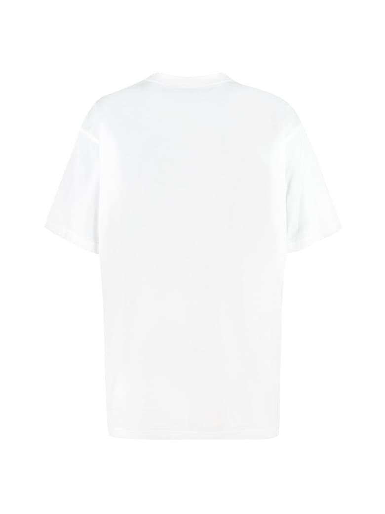 Burberry Oversize Cotton T-shirt - White