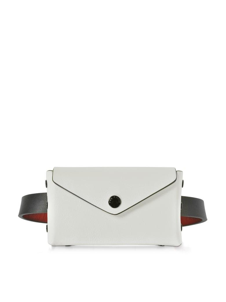 Rag & Bone Medium/large Color Block Leather Atlas Belt Bag - White