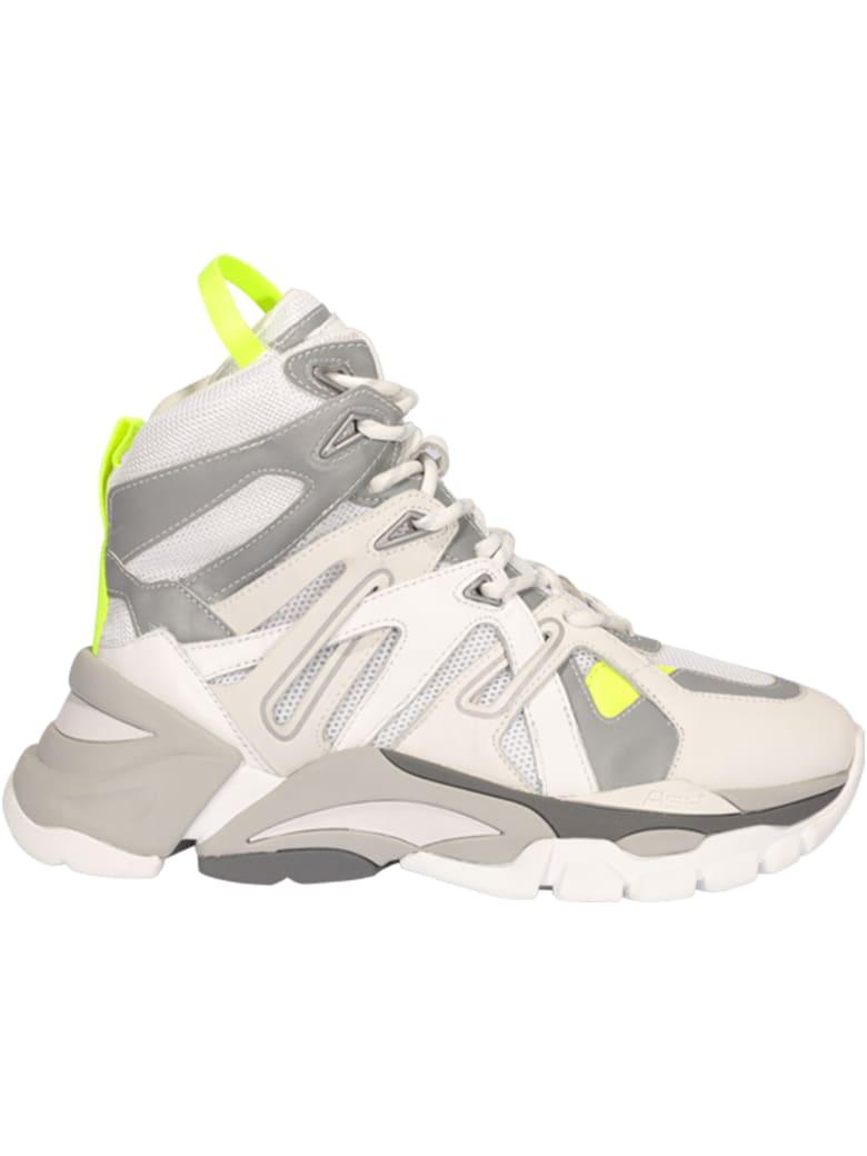 Ash Fiction Sneakers - White