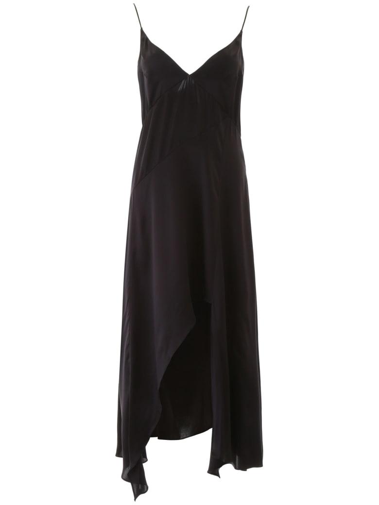 Le Kasha Niya Slip Dress - BLACK (Black)
