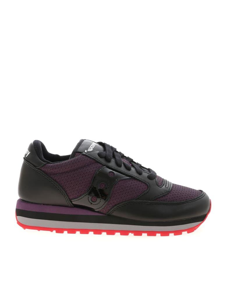 Saucony Sneakers - Black/deep purple