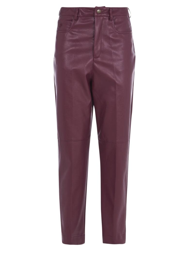 Philosophy di Lorenzo Serafini Cropped Trousers - Red