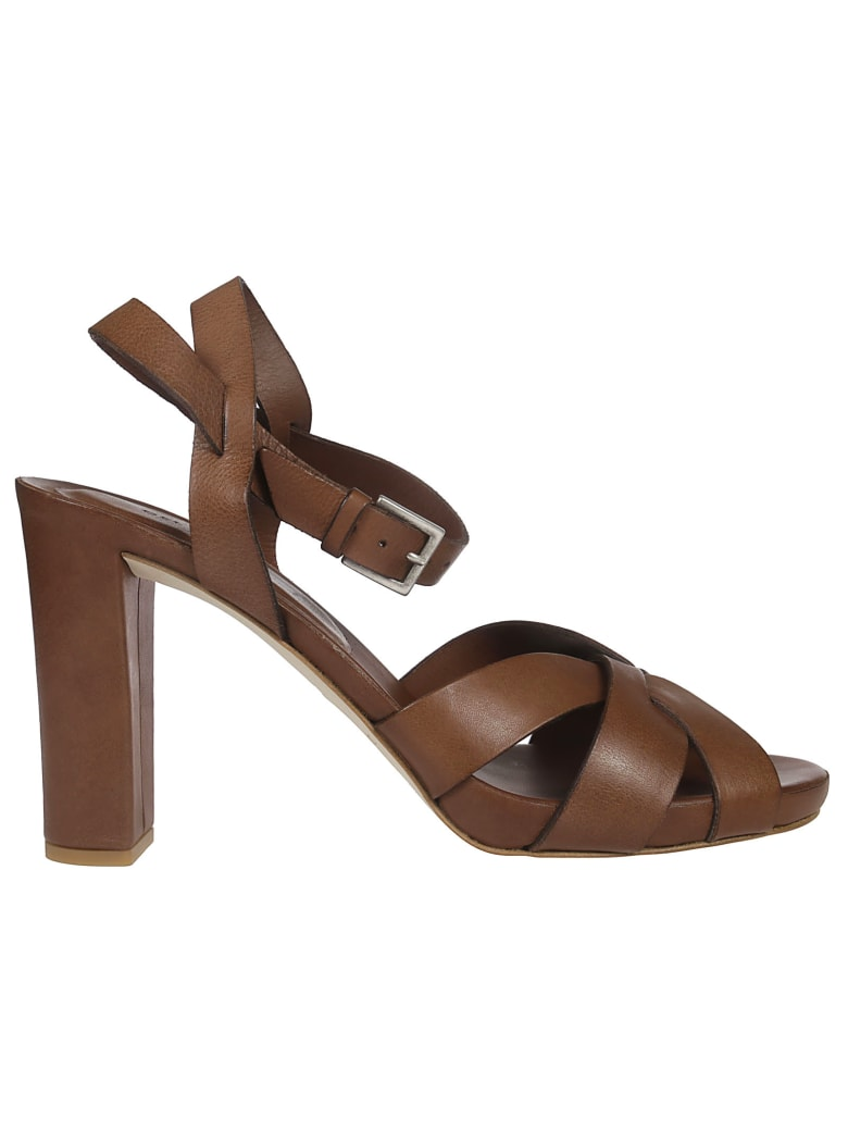 Roberto del Carlo High Heel Sandals - Brown