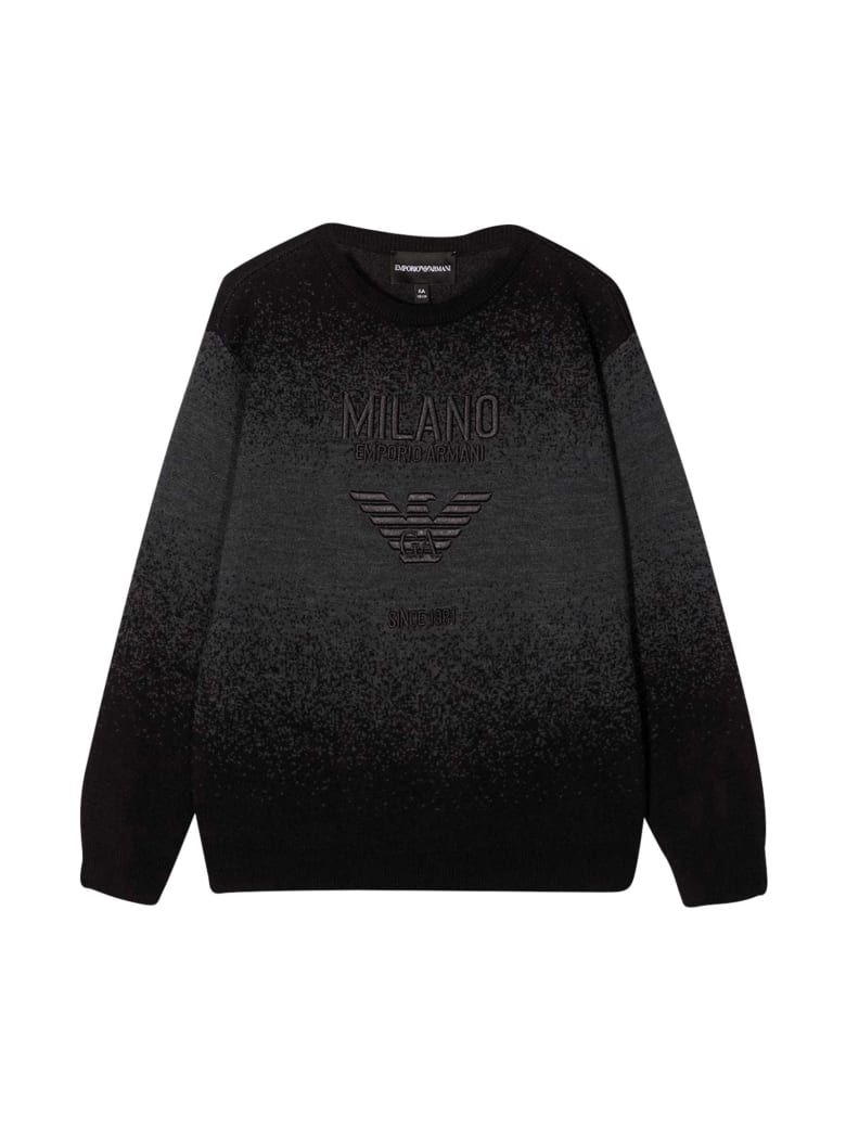 Emporio Armani Black Sweatshirt - Unica