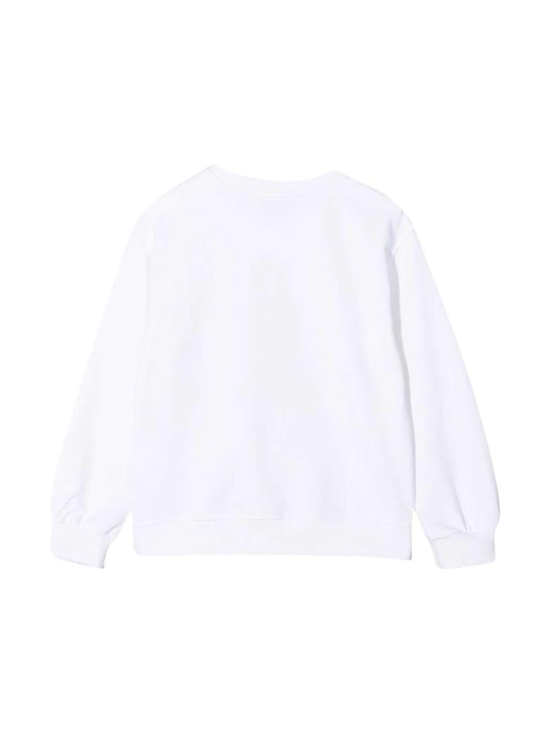 Moschino White Teen Sweatshirt With Toy Print - Bianco