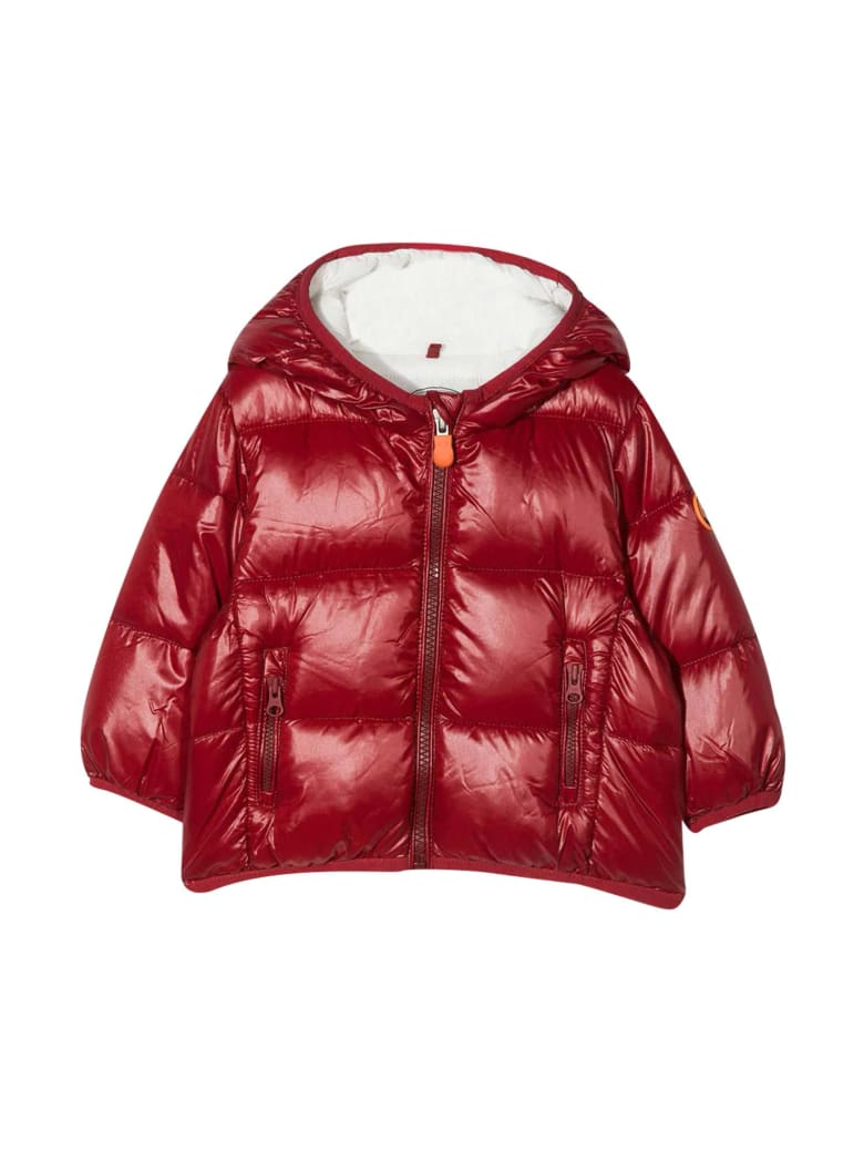 Save the Duck Red Jacket Kids - Rosso