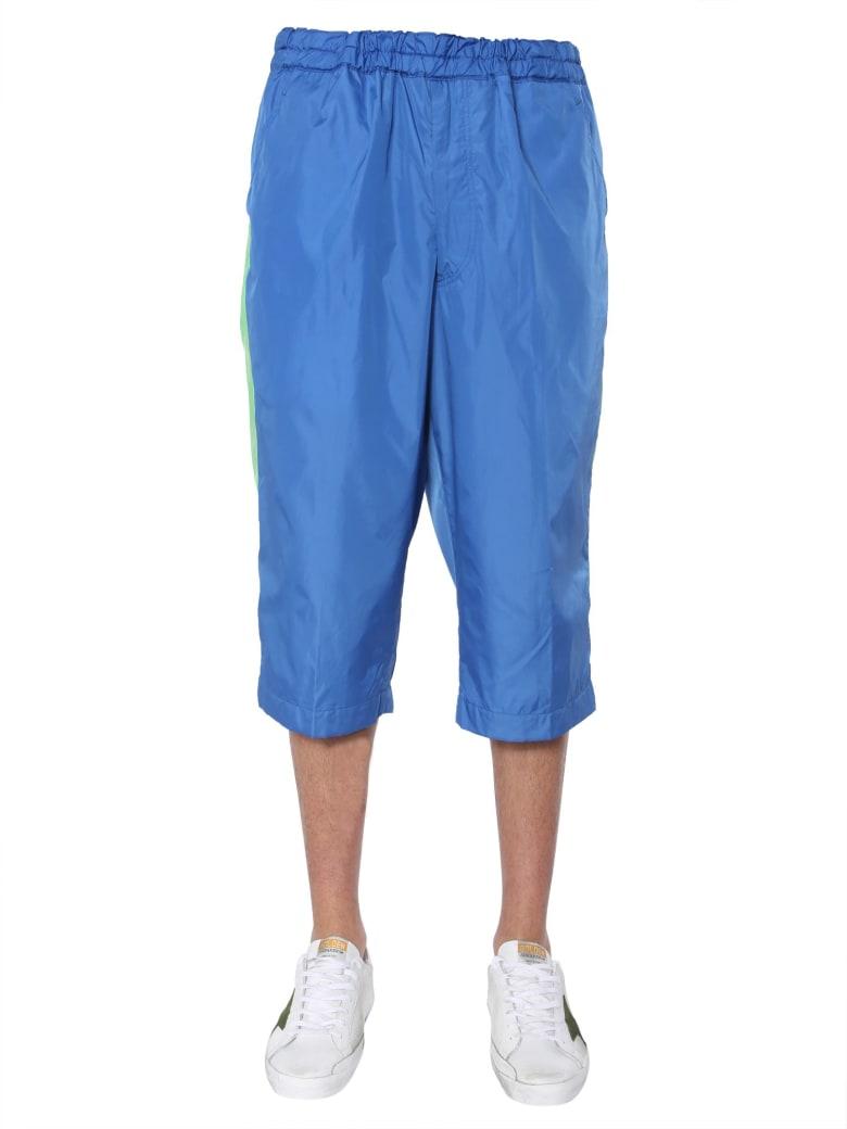 Comme des Garçons Shirt Boy Shorts With Side Bands - MULTICOLOR