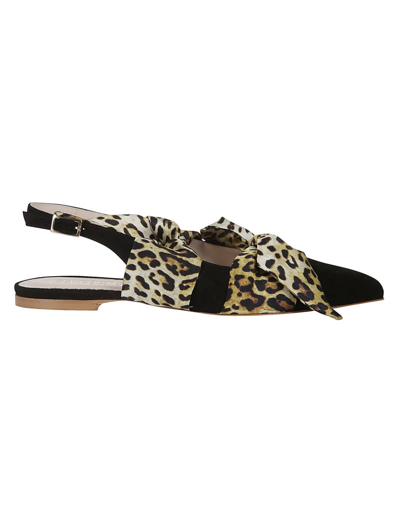 GIA COUTURE Flat Shoes - Black