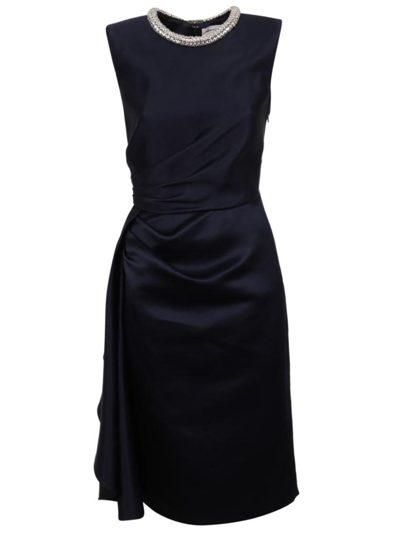 Alexander McQueen Ev Dress - Midnight Blue