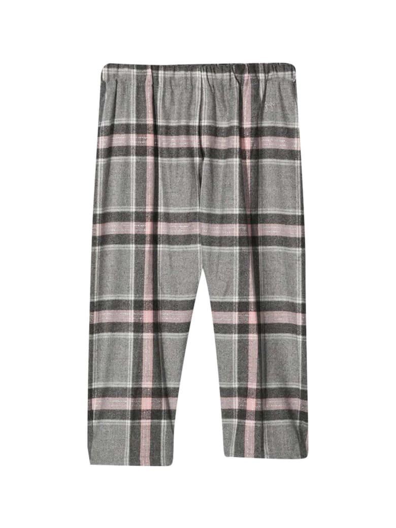 Il Gufo Tartan Trousers - Rosa
