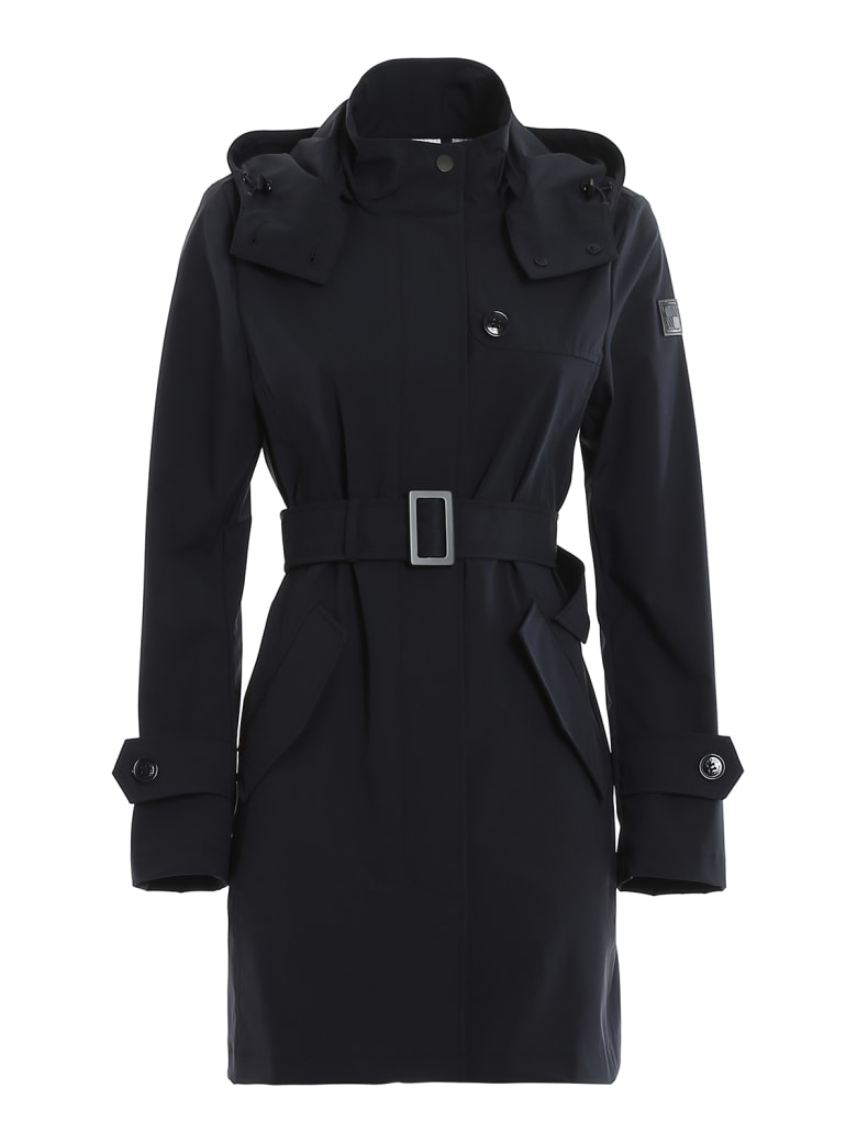 Woolrich - Trench Coat - Blue