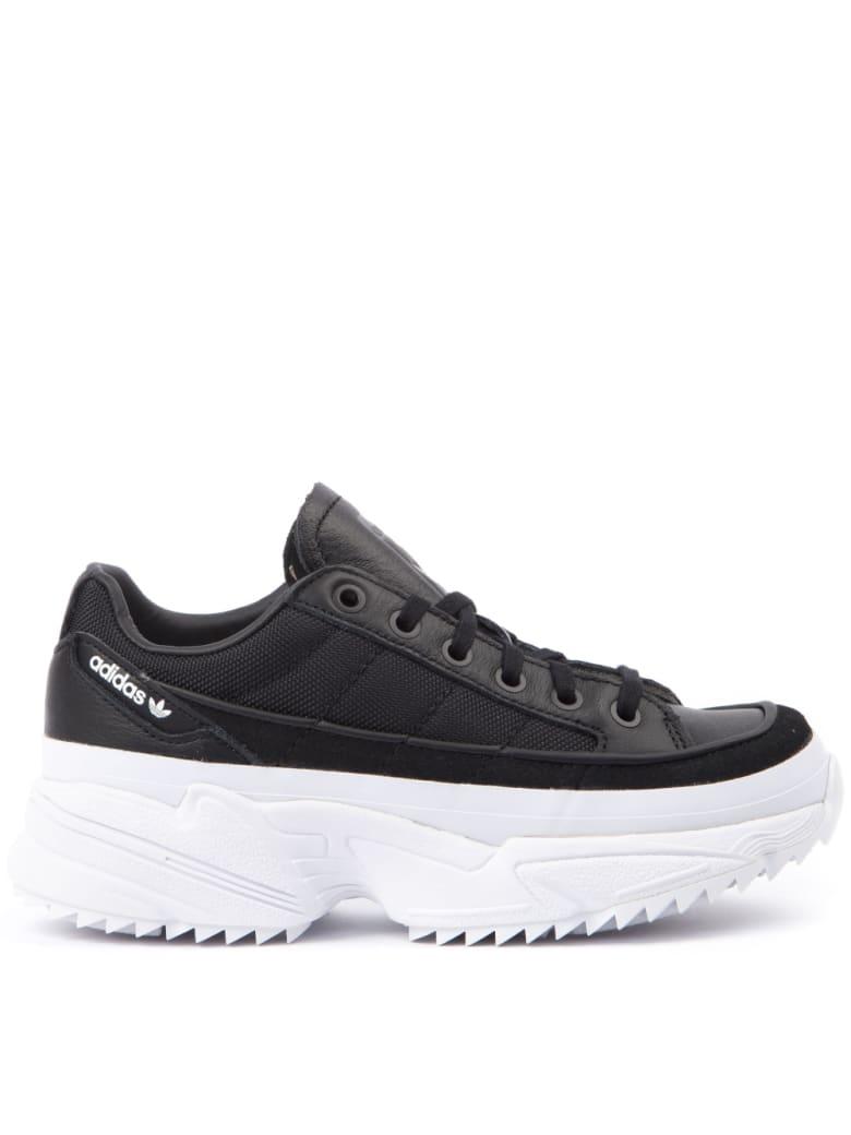 Adidas Originals Kiellor Black & White Cunky Sneakers - Black