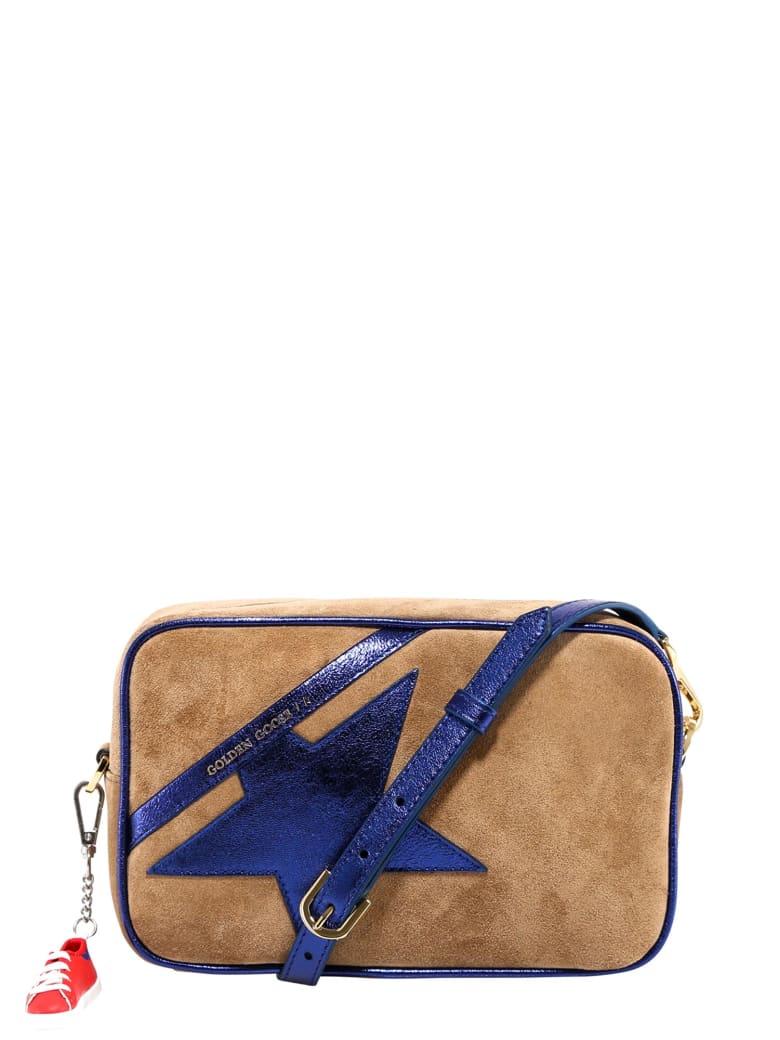 Golden Goose Logo-patch Crossbody Bag - Brown