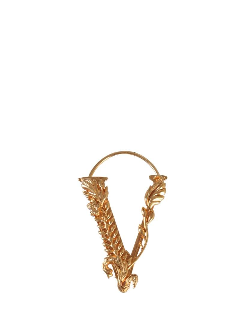 Versace V Earring - ORO