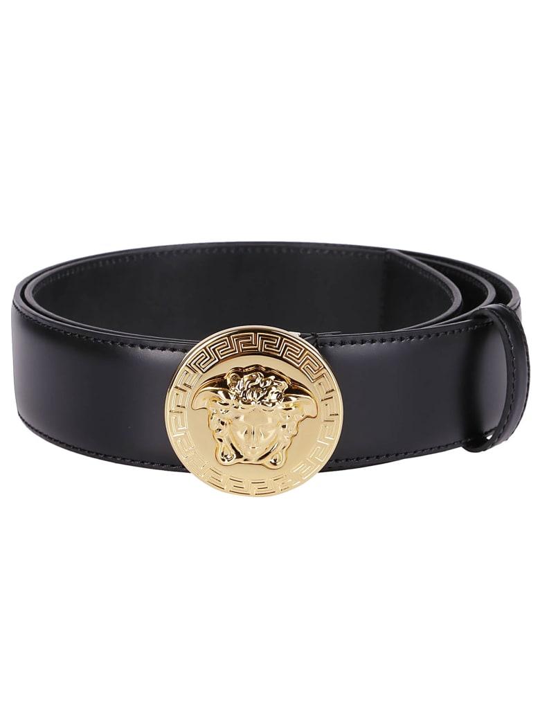 Versace Classic Medusa Belt - Black