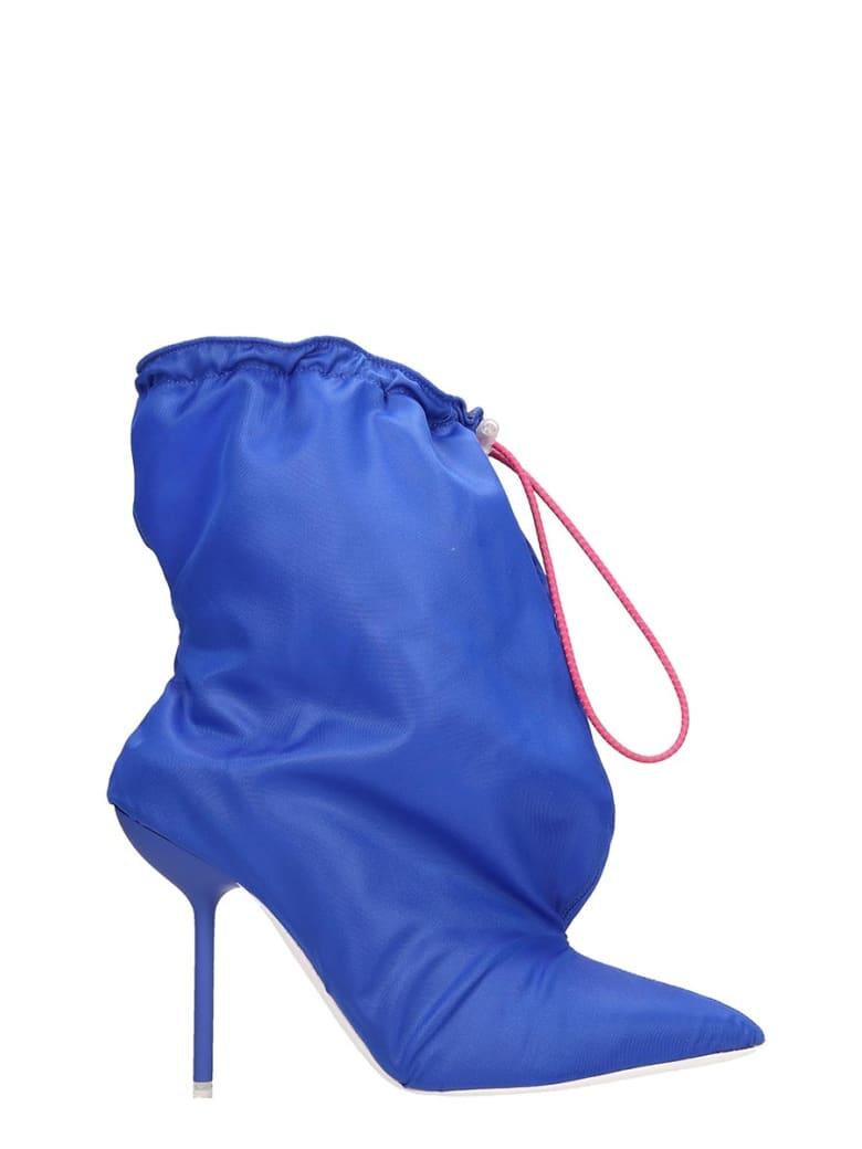 Ben Taverniti Unravel Project Elephant Mule Ankle Boots - blue