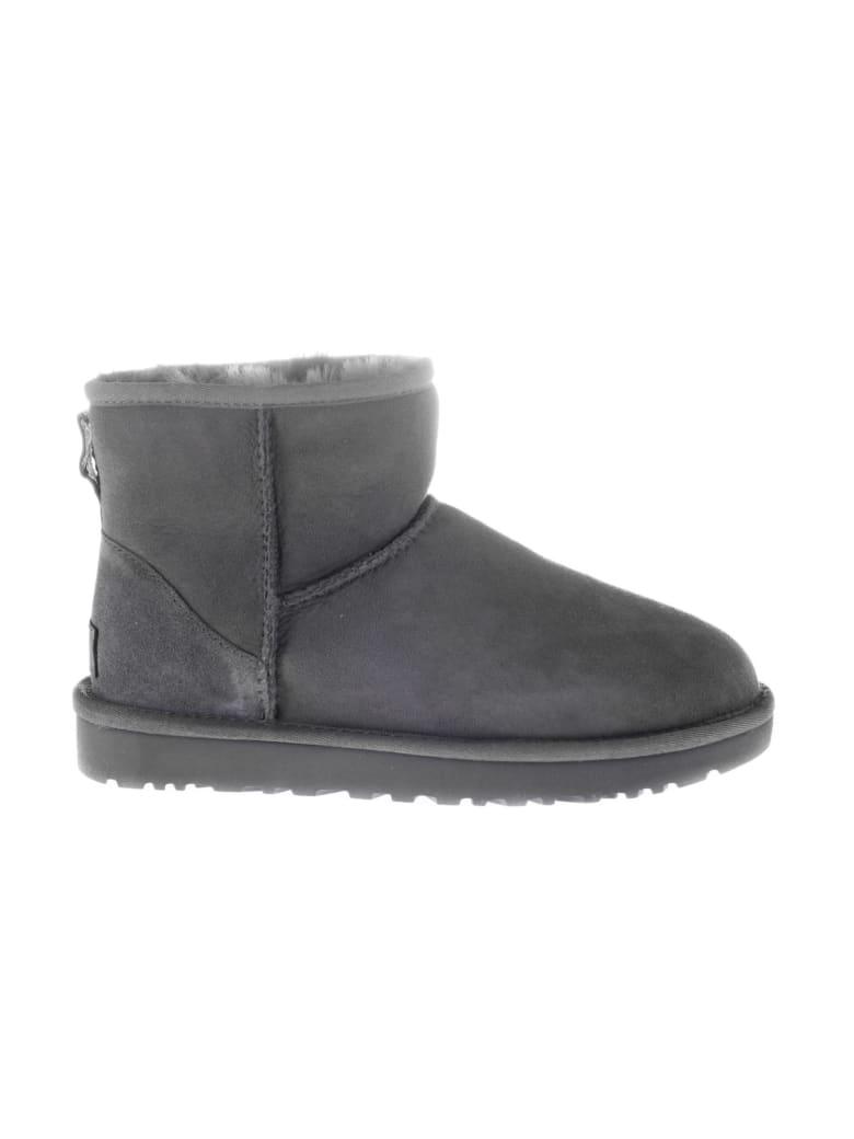 UGG Classic Mini II Ankle Boots - Grey