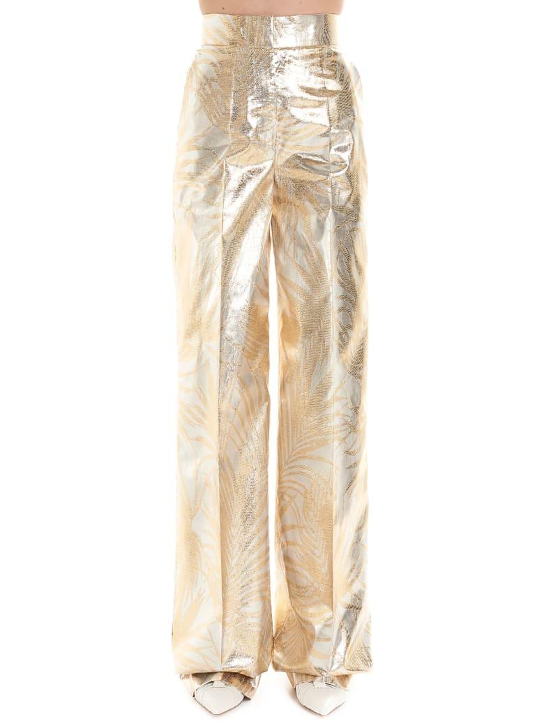 Sara Battaglia Pants - Gold