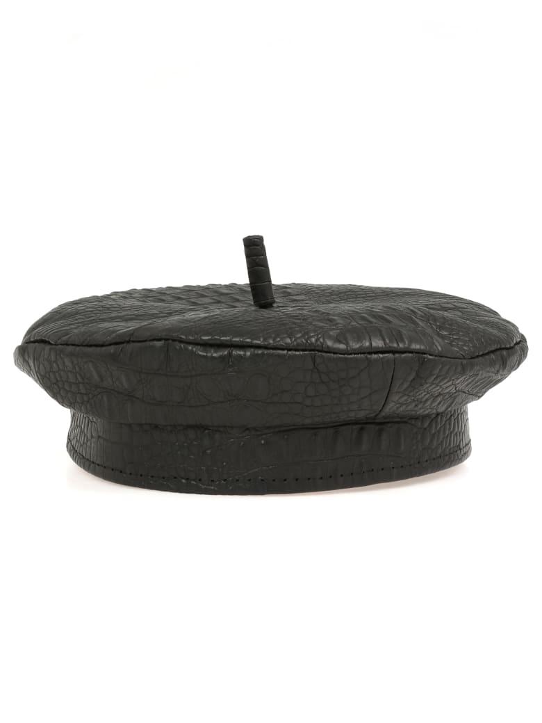 Ruslan Baginskiy Leather Basque - BLACK
