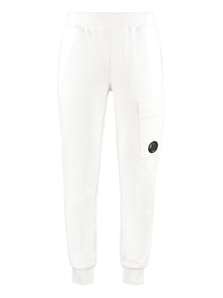 C.P. Company Cotton Jogging Trousers - White
