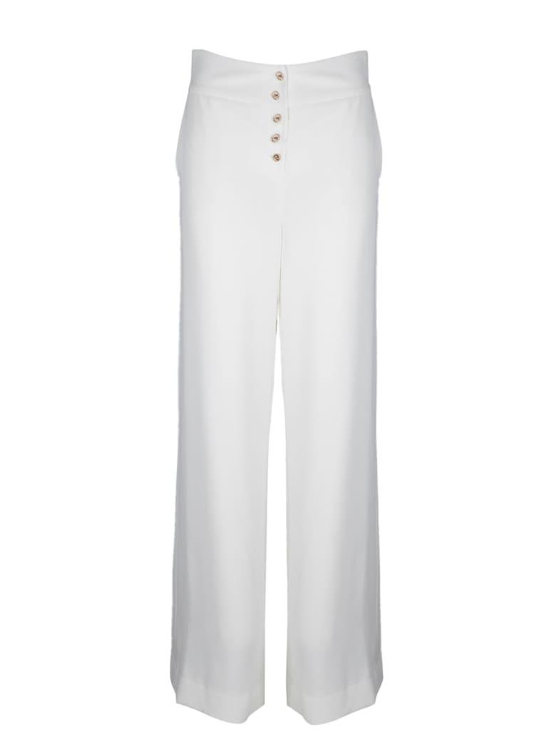 Edward Achour Paris Wide Leg Pants - White