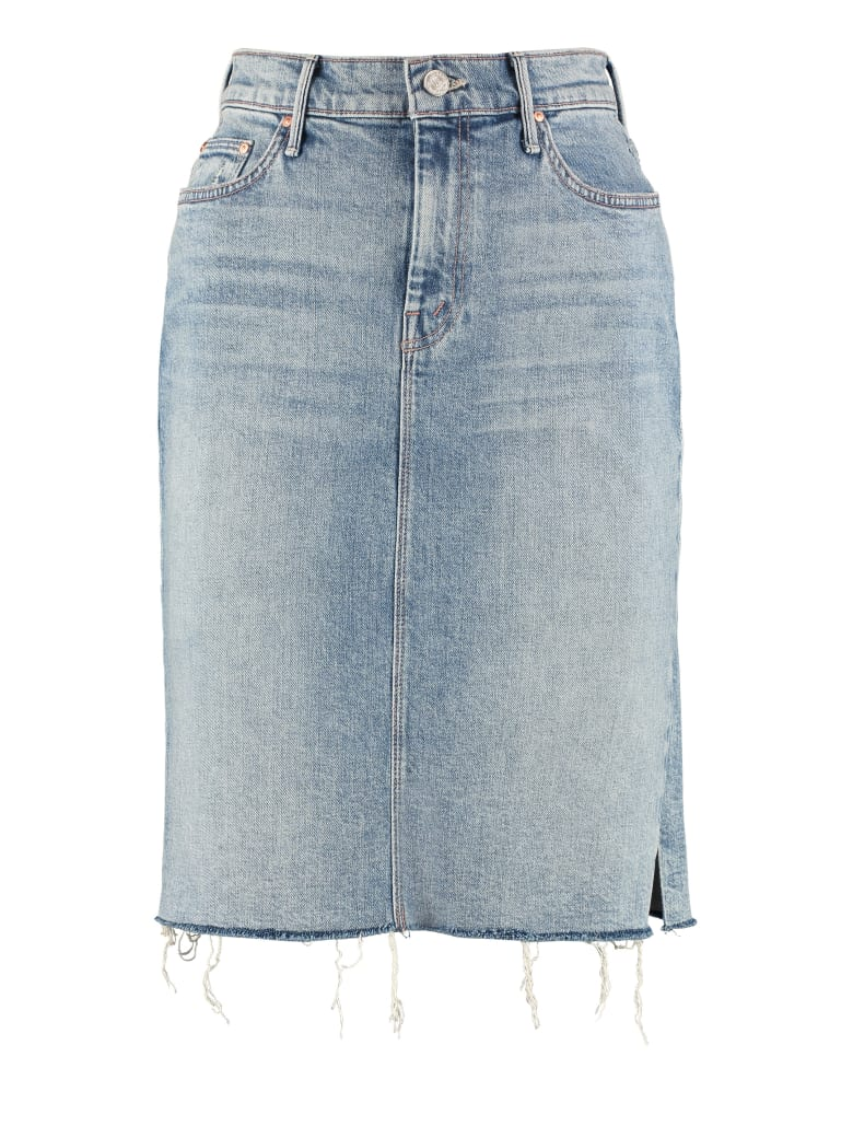 Mother Denim Skirt - Denim