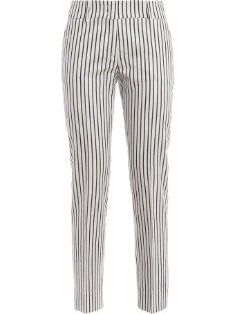 Piazza Sempione Striped Trousers