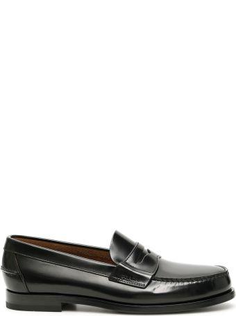 Prada Brushed Calfskin Loafers
