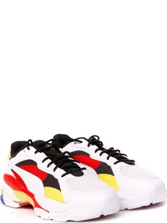 Puma Select Lqd Cell Epsilon Multicolor Nylon & Leather Sneaker